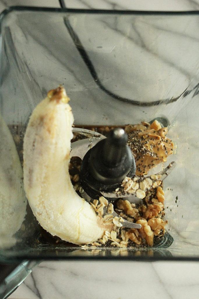 caffiene chocolate banana smoothie recipe