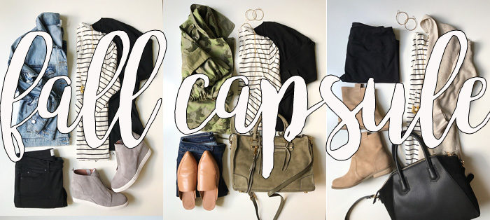 Fall Capsule Wardrobe for busy moms 2