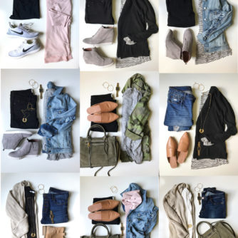 Fall Capsule Wardrobe for busy moms featured by popular Texas style blogger, Style Your Senses