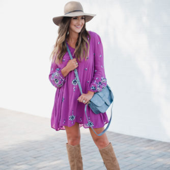Free People Swing Dress Styled 3 Ways for Fall Transition | Style Your Senses