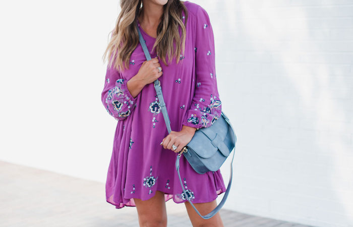 One Cute Embroidered Dress Worn 3 Ways!