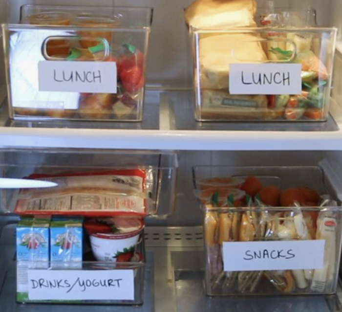 Easy lunch box ideas
