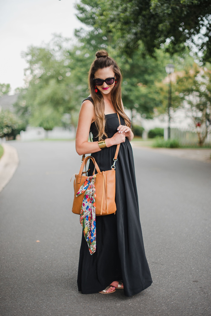 Black Maxi Dress Style Your Senses