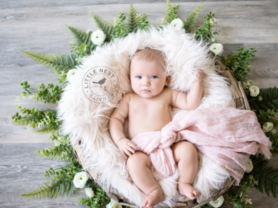 Lawson's 3 Month Images From Little Nest + Her Sleep Schedule