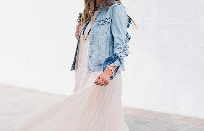 Pleated Maxi Dress Worn 3 Ways