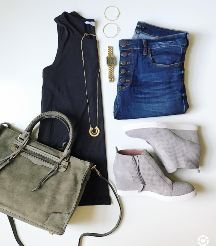 Easy Fall transition outfit