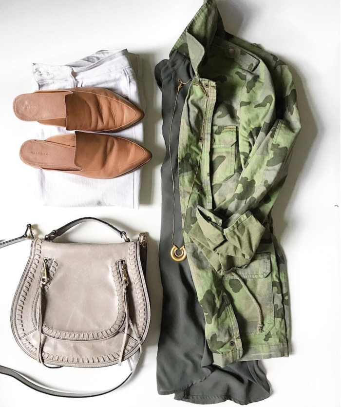how to style camo for Fall