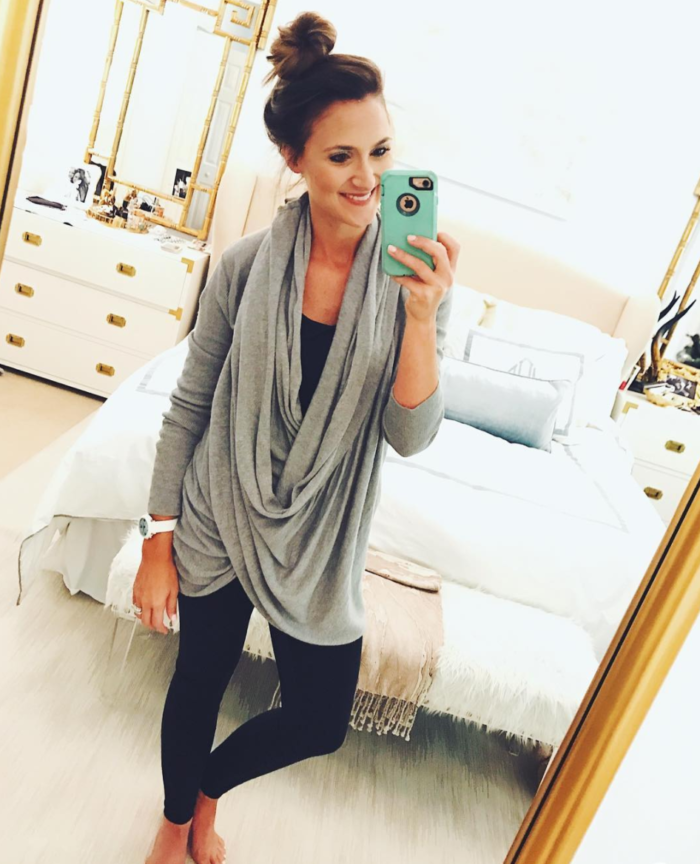 Cozy Wrap Sweater for Fall