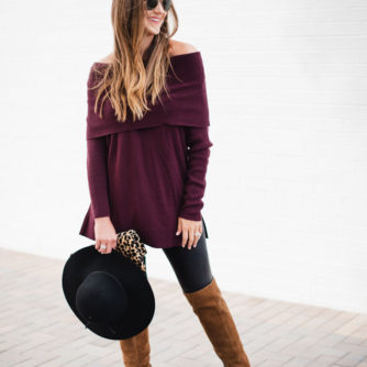 How to Style Spanx Leggings for Fall!