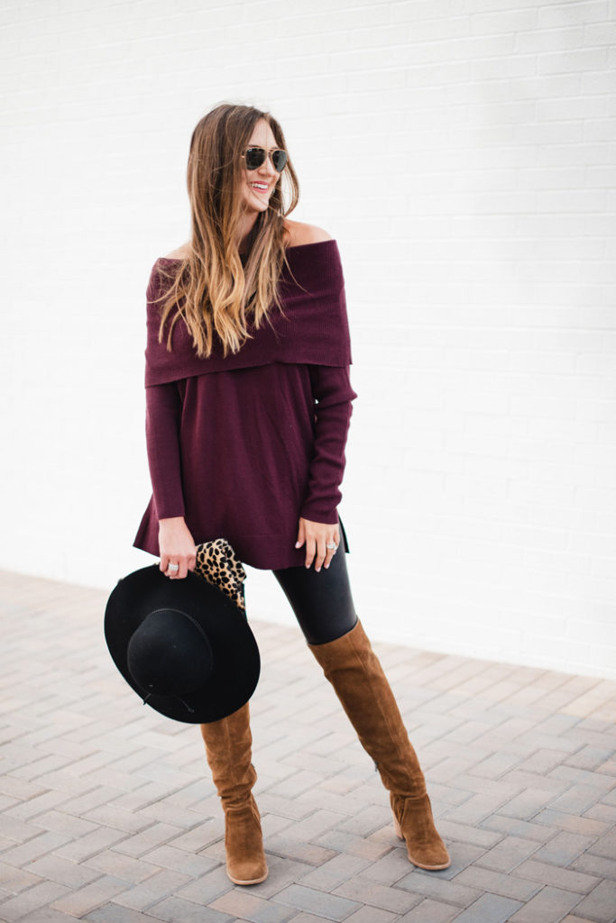 Ideas on how to style Spanx leggings for Fall