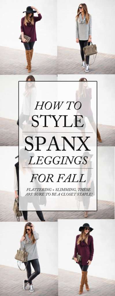 How to Style Spanx Leggings for Fall