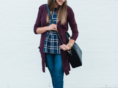 Plaid Peplum ON SALE!