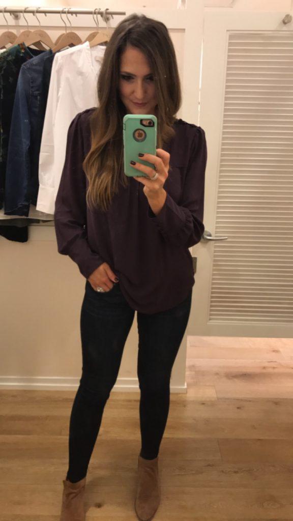 Loft favorites | Purple Tunic