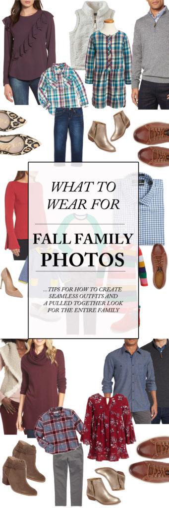 TIPS AND TRICKS ON WHAT TO WEAR FOR YOUR FALL FAMILY PHOTOS