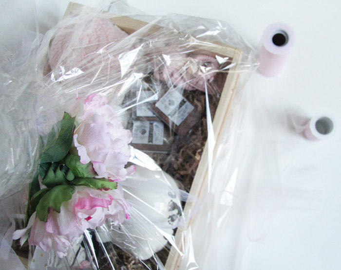 Gift basket idea for a preemie baby