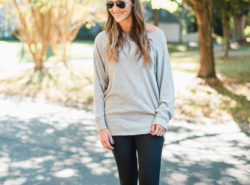 off the shoulder free people sweatshirt 1