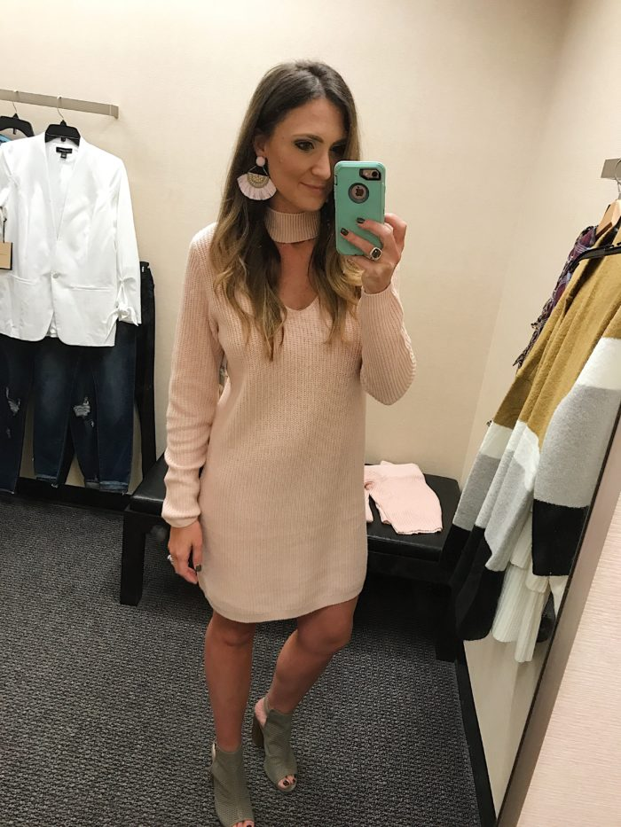 Sweater Dress | Easy to dress up or down for fall