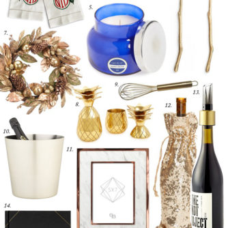 HOLIDAY GIFT GUIDE: HOSTESS GIFT IDEAS