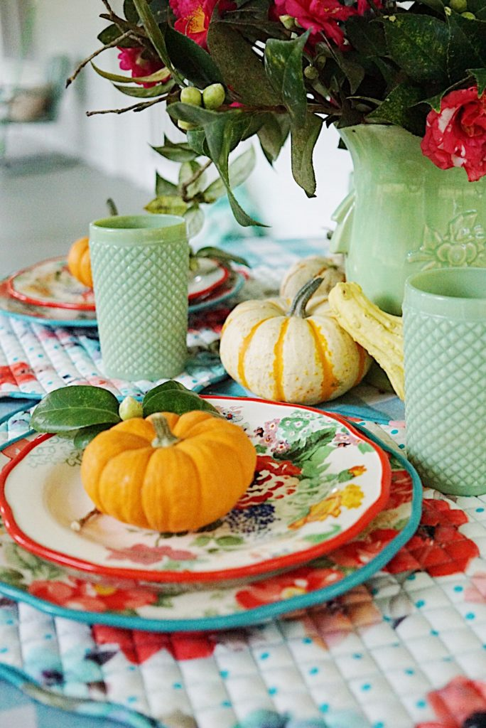 A budget friendly Thanksgiving using Pioneer Woman Ree Drummond's line for Wal-Mart