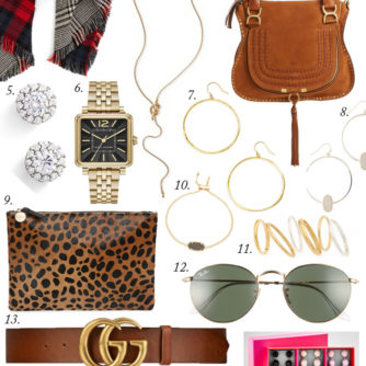 Accessory Edit for Fall | The top accessories that every girl needs in her closet for the Winter months!