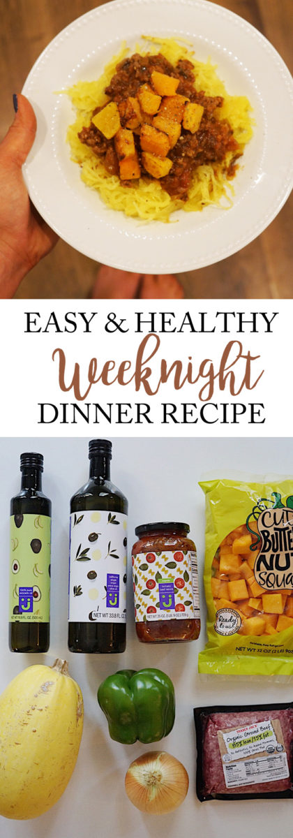 Easy weeknight dinner recipe with jet.com