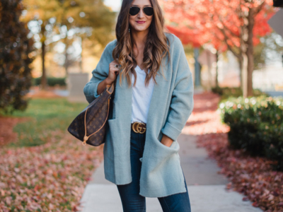 One Cardigan Two Ways With Sole Society
