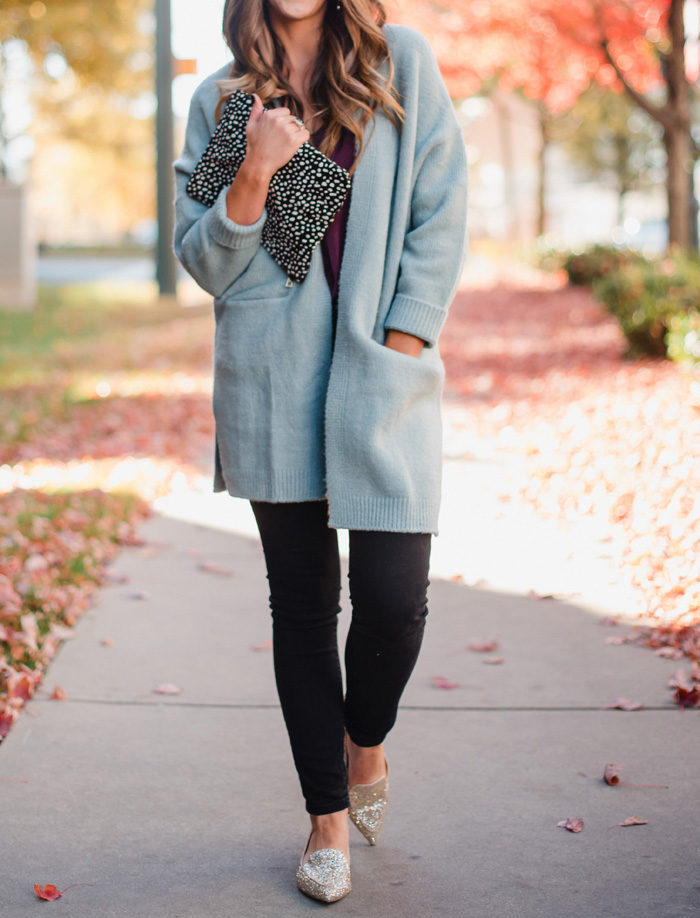how to style a cardigan two ways with sole society
