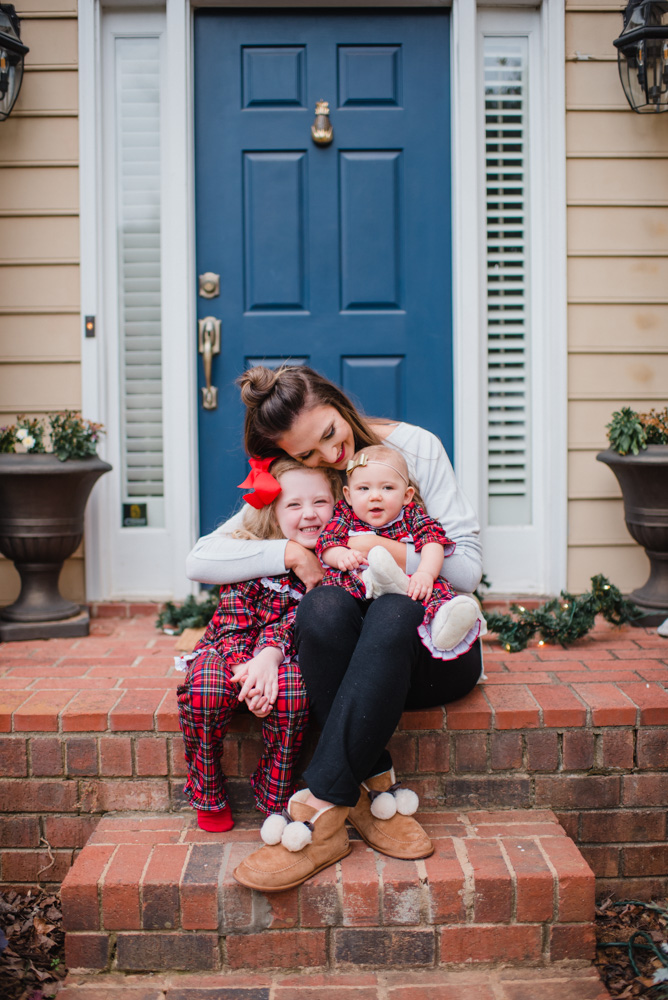 Cozy loungewear for moms and kids
