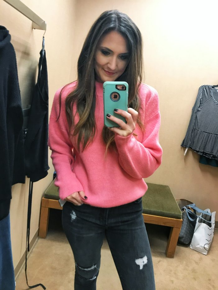 Nordstrom Winter Try on Session