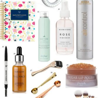 Gift Guide: My Favorite Things + Stocking Stuffers.