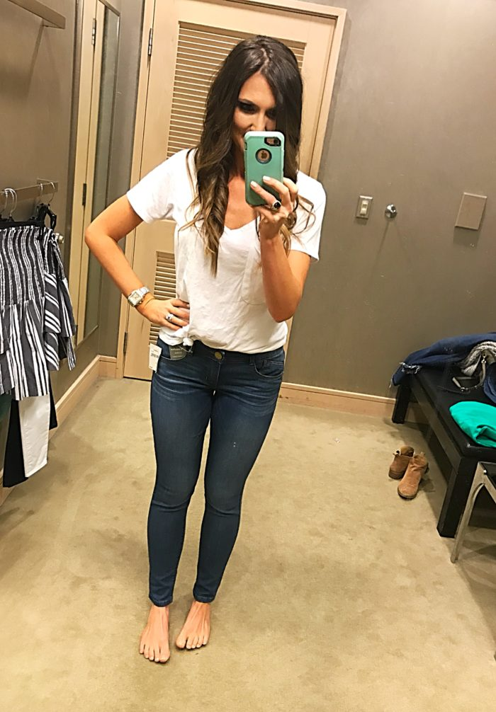 wit and wisdom absolution stretch skinny jeans fit review - 10 Top Purchases for April featured by popular Texas fashion blogger, Style Your Senses