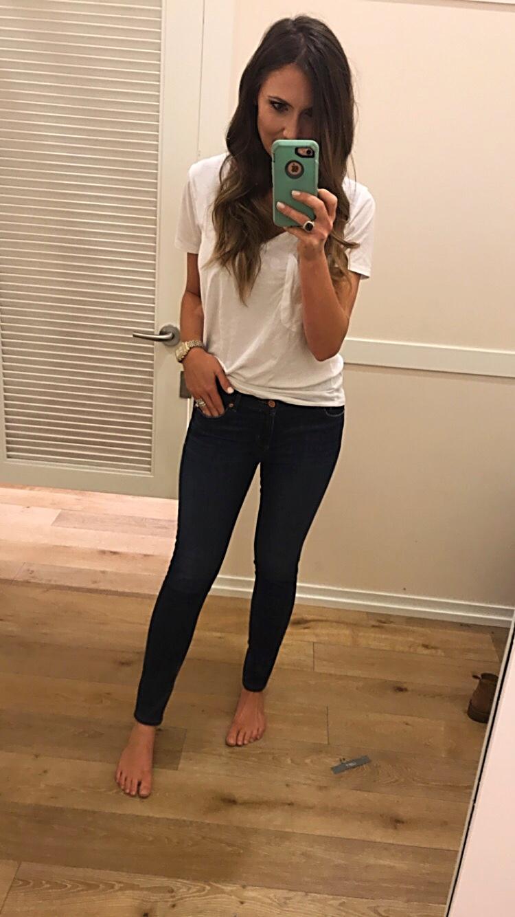 LOFT modern fit skinny jean fit review