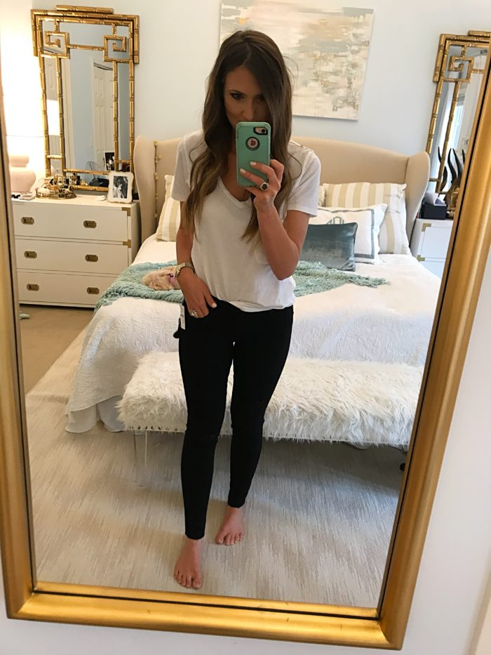 Articles of Society Black Stretch Skinny Jeans Fit Review
