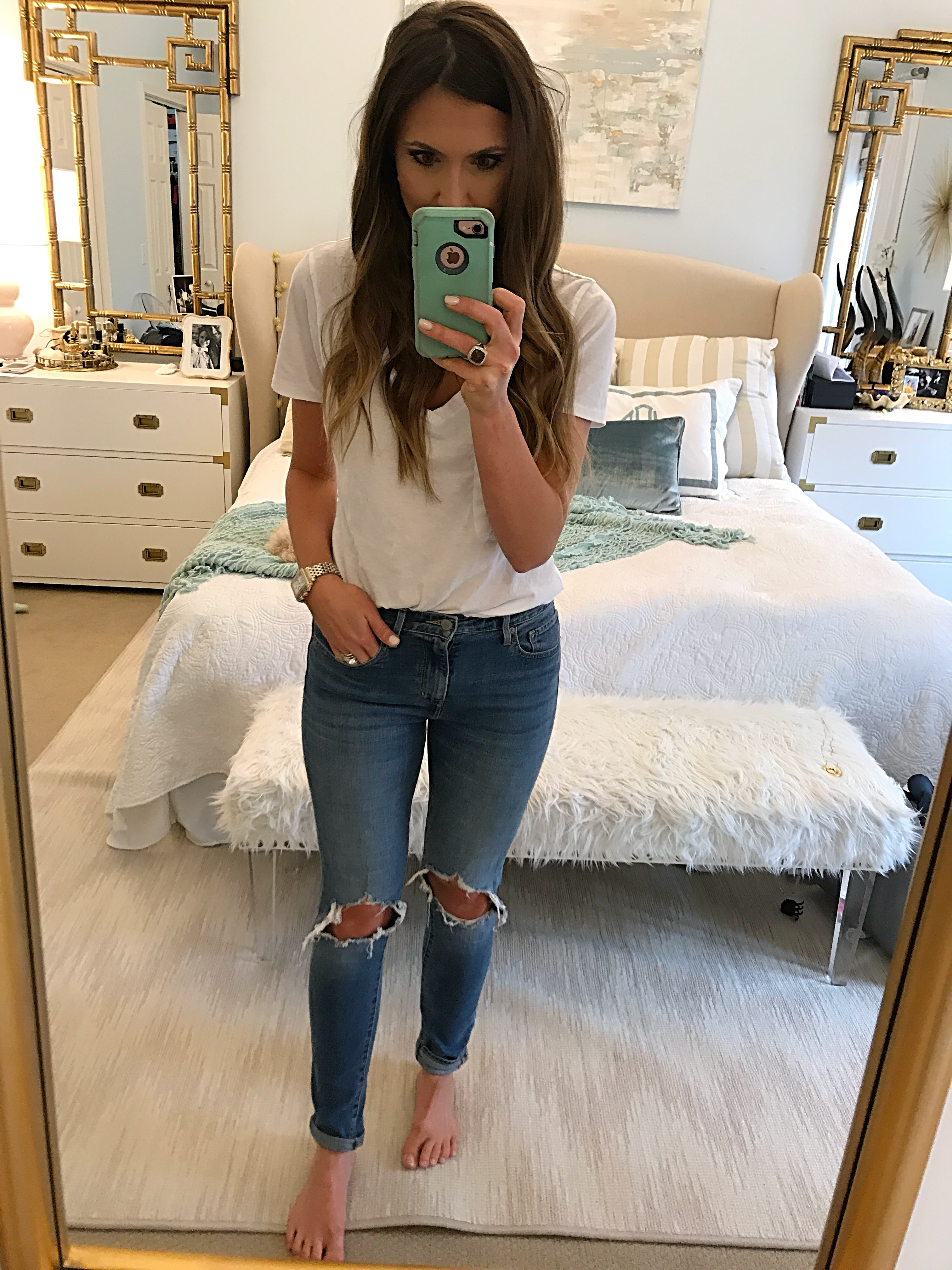 Levi's Busted Knee Skinny Jeans Fit Review