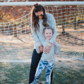 Zella activewear for mommy and me