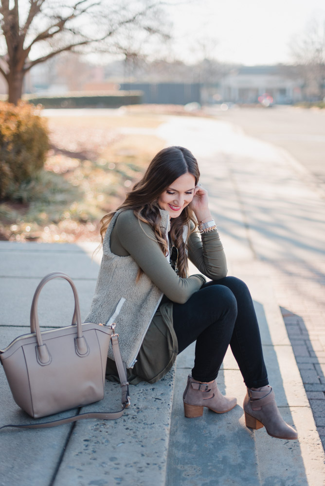 Casual Spring Transition Outfit Idea - Nordstrom Anniversary Sale featured by popular Texas fashion blogger, Style Your Senses