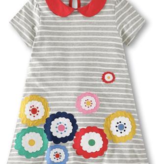 Fiream Dresses for little girls on amazon | Amazing Amazon Find for Kids featured by popular Dallas fashion blogger, Style Your Senses