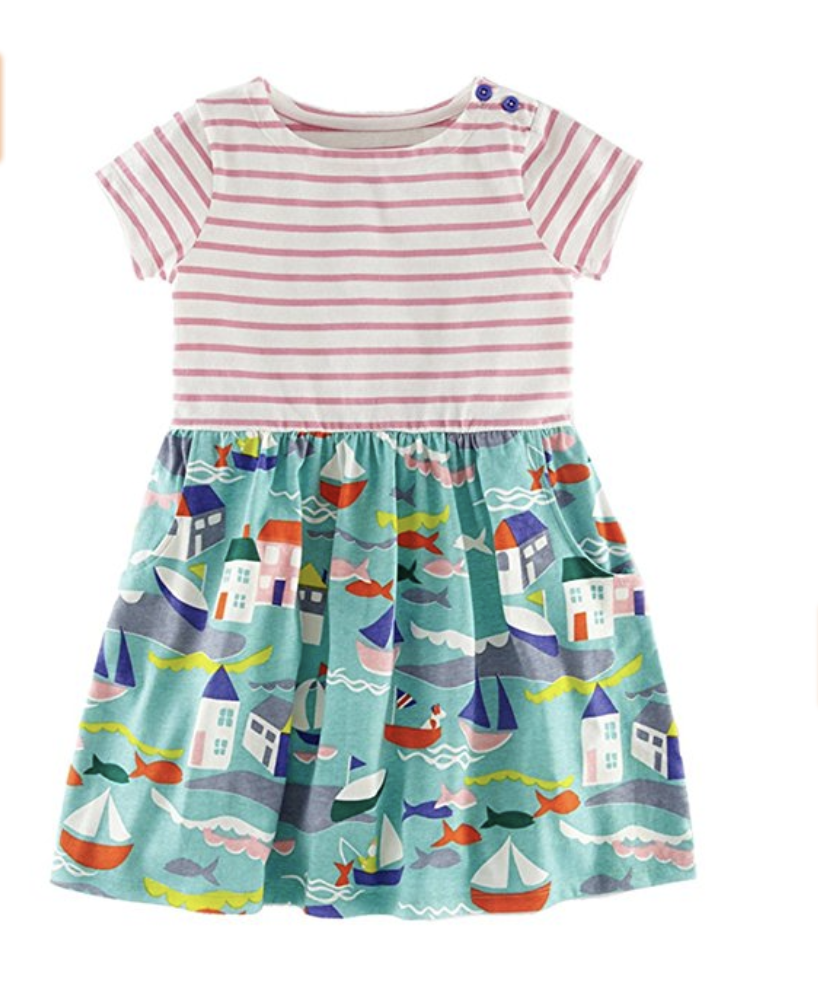 Fiream Dresses for little girls on amazon | Amazing Amazon Dresses for Girls featured by popular Dallas fashion blogger, Style Your Senses