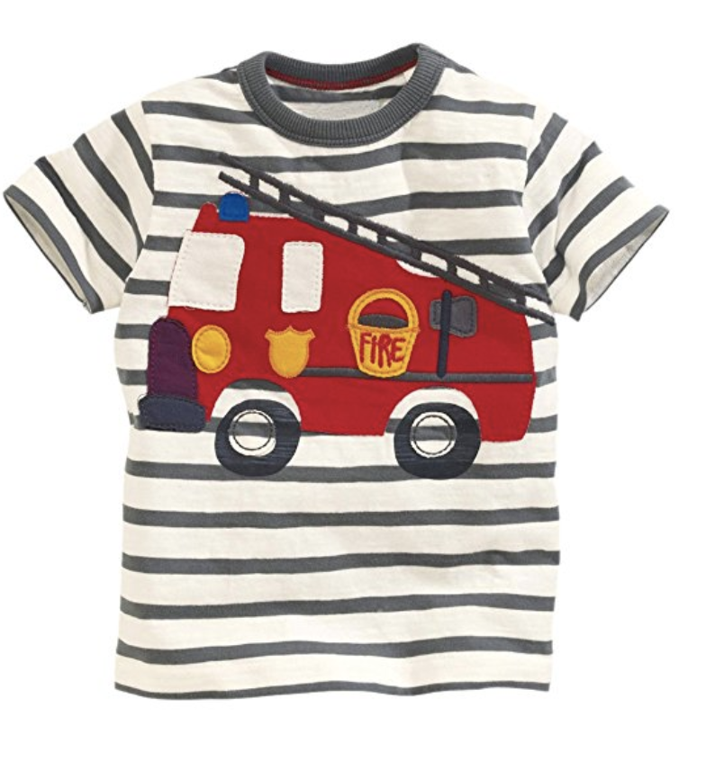 Tshirts for kids on amazon featured by popular Dallas fashion blogger, Style Your Senses