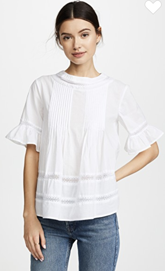 English Factory Boho top