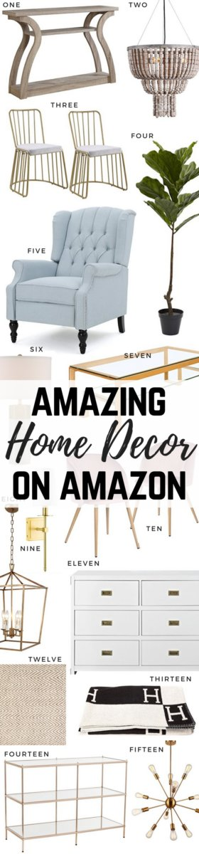Home Decor finds on Amazon