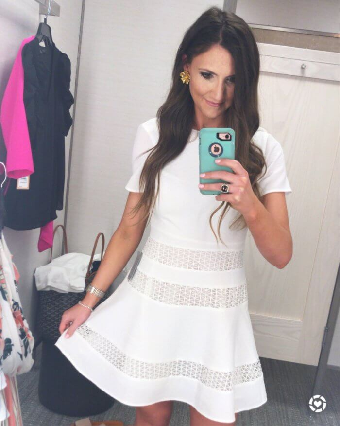 pretty white dress for summer - 10 Top Purchases for April featured by popular Texas fashion blogger, Style Your Senses