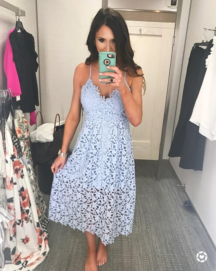 lace midi dress - 10 Top Purchases for April featured by popular Texas fashion blogger, Style Your Senses