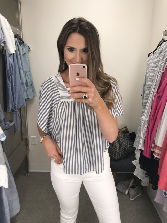 Casual Summer Tops for Moms - Casual Summer Tops styled by popular Texas fashion blogger, Style Your Senses