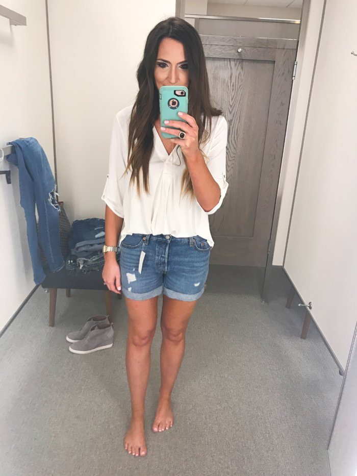 Denim Short Review by a real mom - The Best Denim Shorts featured by Texas fashion blogger, Style Your Senses