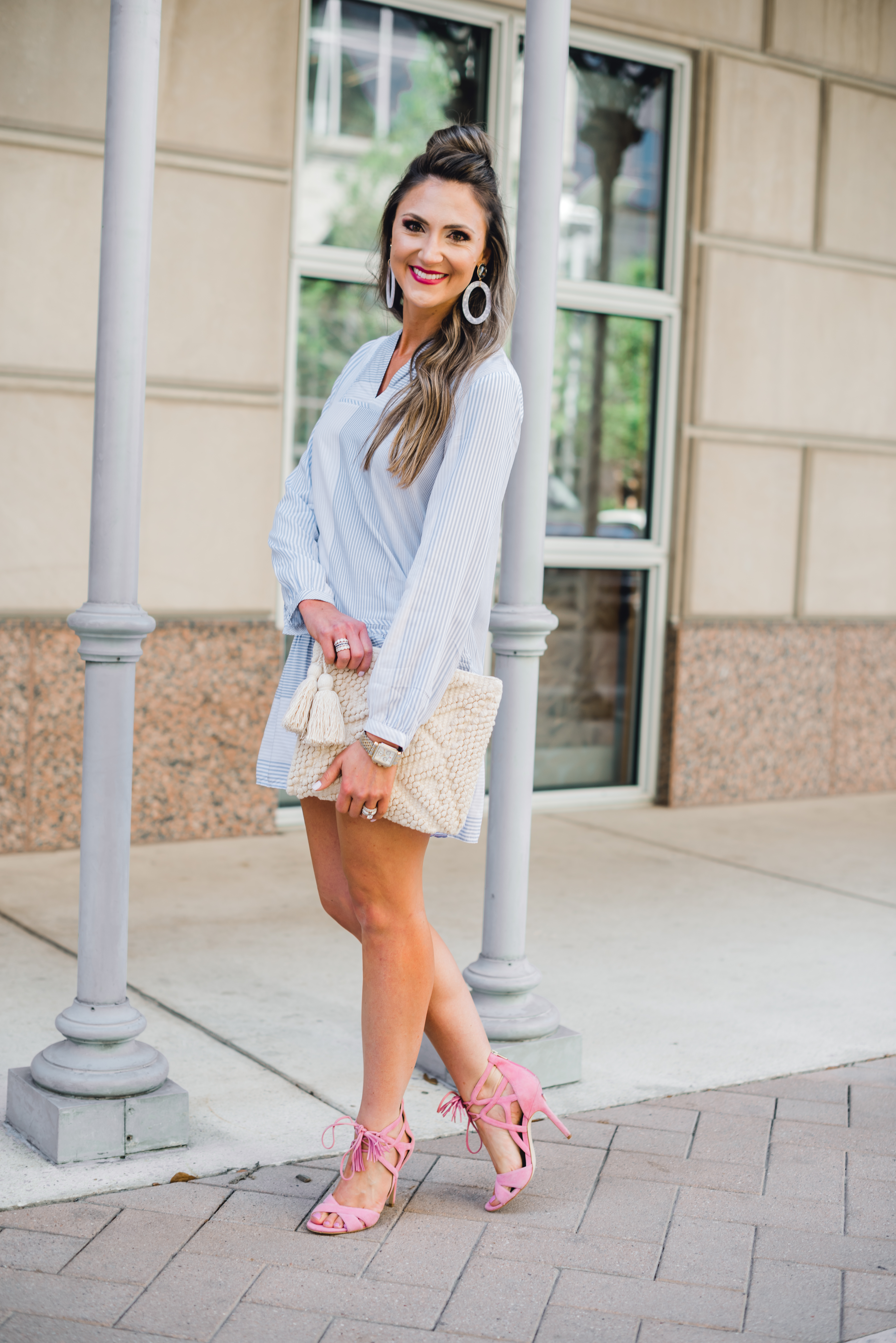 LOFT DRESS / how to wear one dress two ways - LOFT Dress styled two ways by popular Texas fashion blogger, Style Your Senses