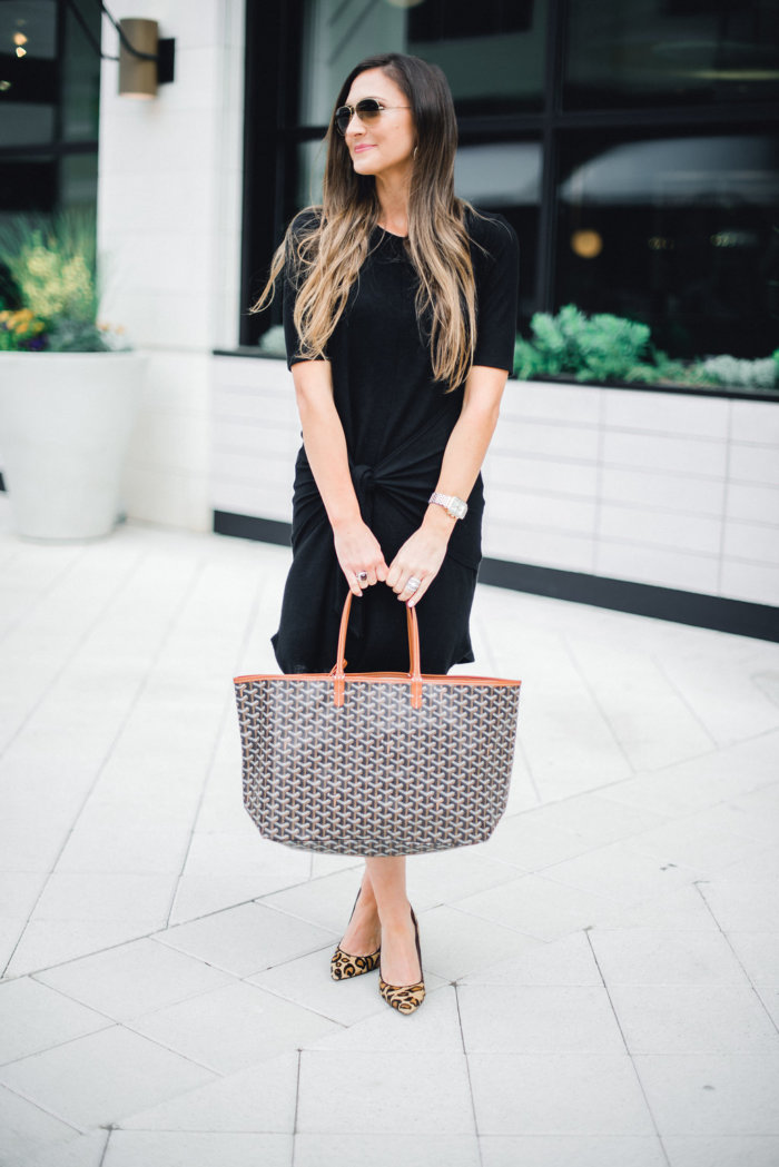 How to take a little black dress from work to weekend with Mallory of Style Your Senses