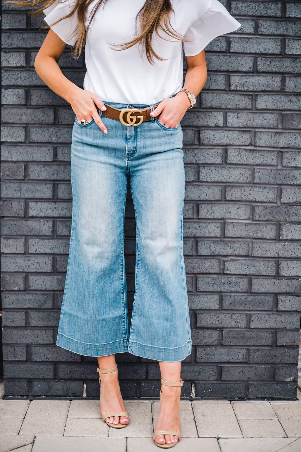 How to Style Wide Leg Crops 3 Ways
