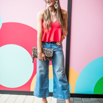 How to Style Wide Leg Crops (3 Ways!)