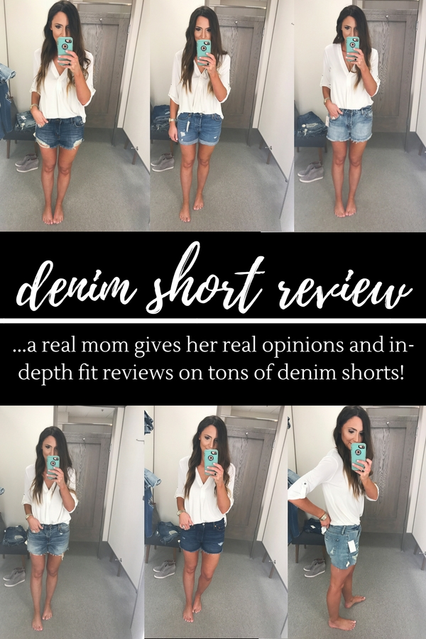Denim Shorts for Women / A real review by a real mom - The Best Denim Shorts featured by Texas fashion blogger, Style Your Senses